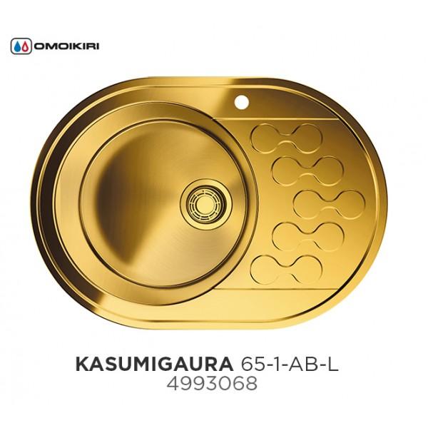 Кухонная мойка Omoikiri Kasumigaura 65-AB-L