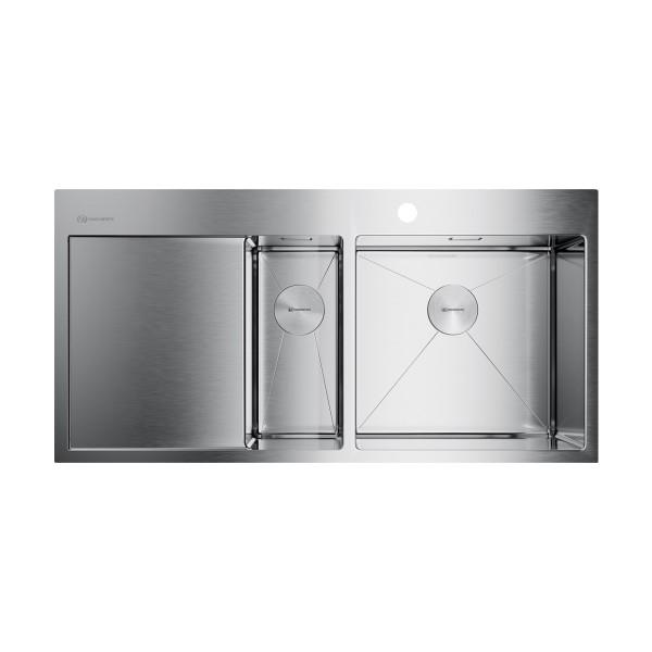 Кухонная мойка Omoikiri Akisame 100-2-IN-R