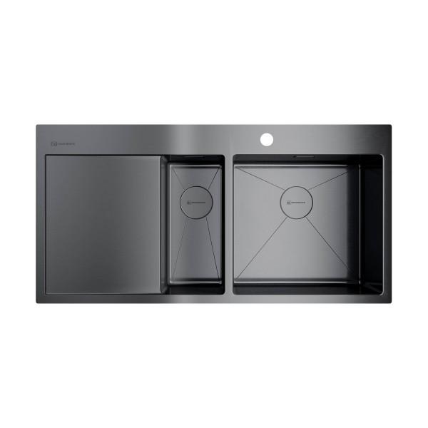 Кухонная мойка Omoikiri Akisame 100-2-GM-R